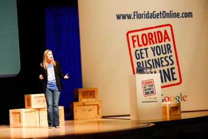 Presenting at Google's: Florida Get Your Business Online